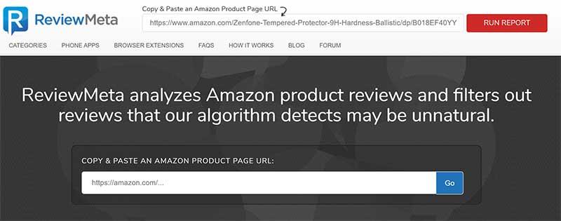 Review Meta zeigt bereinigte Produktbewertungen an.